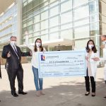 Check Presentation 2020 - Colette Weintraub, Andy Clough, Isabel Neidorf, Dr. Liau, Dr. Cloughesy